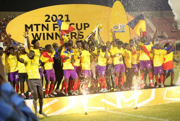 MTN FA Cup ( Ashgold vs Hearts )
